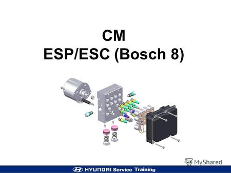 CM ESP/ESC (Bosch 8). 2 Variation Line-up (BOSCH 8 ABS/ESP) S: Standard, O: Option.