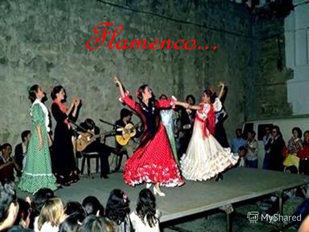 Flamenco... Flamenco is an andalusian term that refers both to a musical genre, known for its intricate rapid passages, and a dance genre characterized.