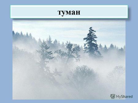 Картинки явления природы туман