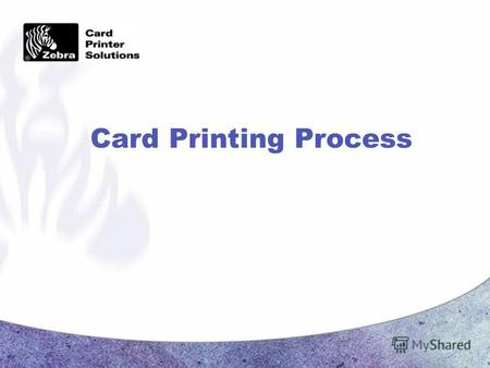 Card Printing Process. Page 2 CONFIDENTIAL Dye Sublimation Yellow Magenta Cyan YMC Diffusion Color.