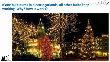 If one bulb burns in electric garlands, all other bulbs keep working. Why? How it works?